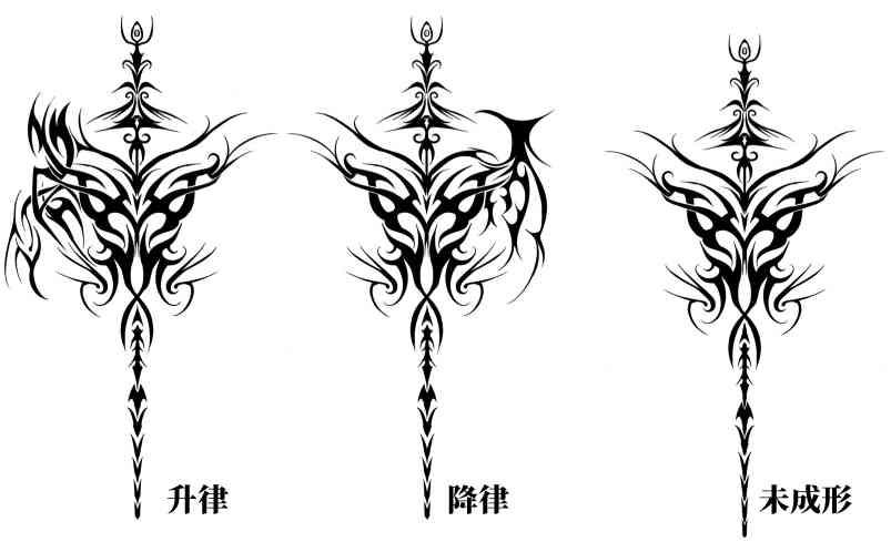 莫以亚拓纹身形态(1)